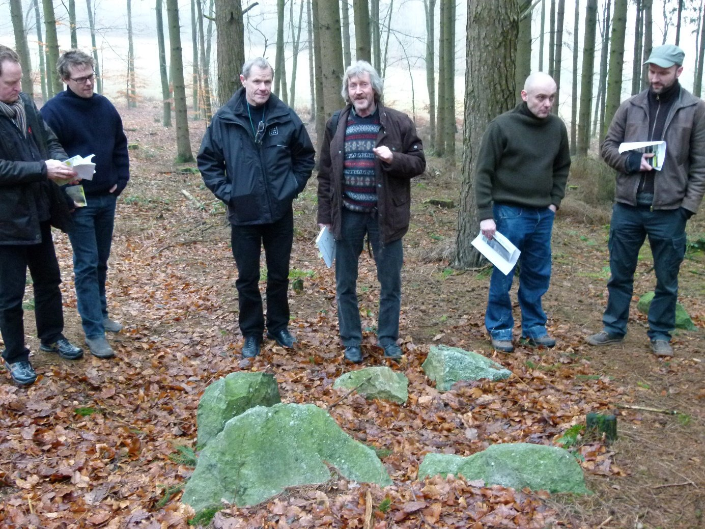 Megalithic routes Megalithstrasse 2