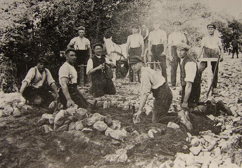 Stenenbestratingswerkzaamheden