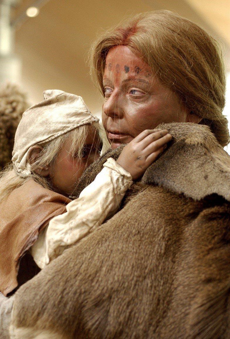 vrouw met kind