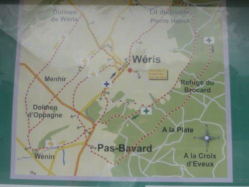 kaart weris