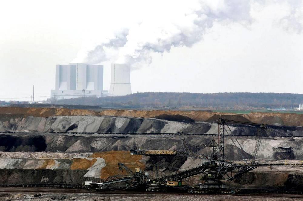 Bruinkoolcentrale Duitsland