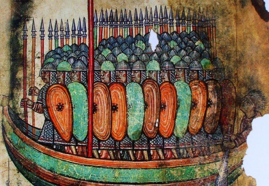 vikingen_in_de_aanval Afbeelding van Vikingen uit 1100