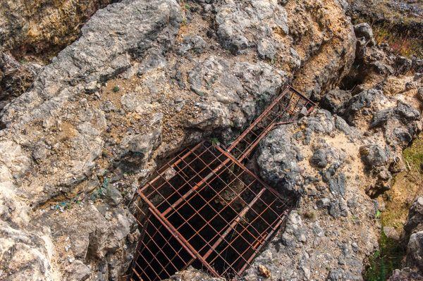 145 metre deep Vivian's Shaft