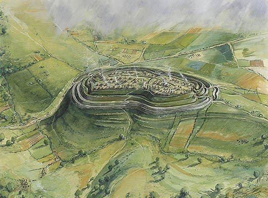 Image result for Iron Age fort reconstruction