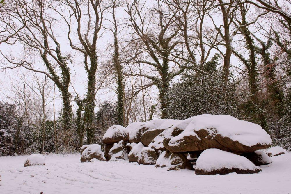 hunebed borger winter