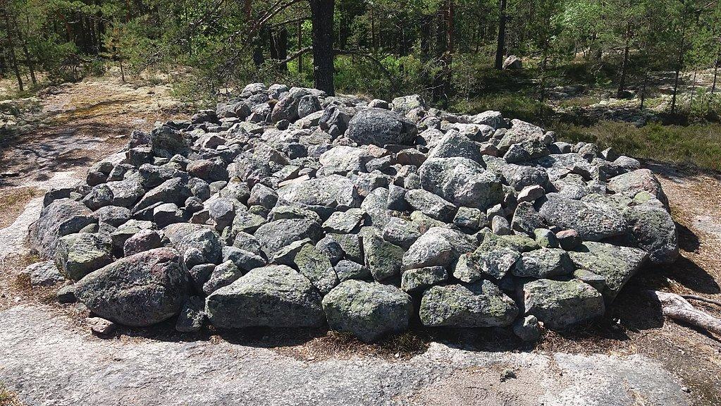 Grafveld bronstijd in Finland