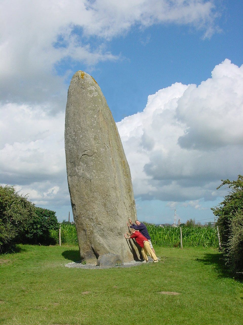 Menhir Dol de Bretagne