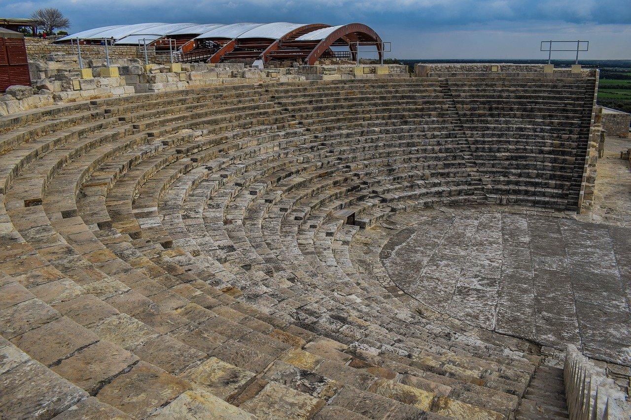 Het theater van Kourion