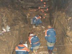 Neanderthal excavation