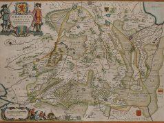 Kaart met Valtherschans. Cornelis Pijnacker [Public domain]